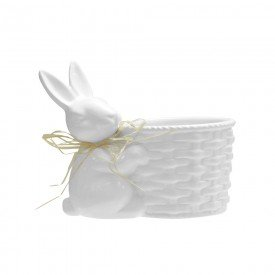 vaso pascoa coelho sentado branco 69341001 casa cafe mel 2