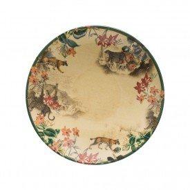 prato fundo ceramica individual aquarelle savana 202284 copa e cia casa cafe mel