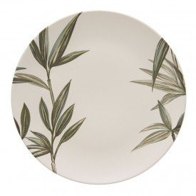 prato raso ceramica individual aquarelle bambu 203339 copa e cia casa cafe mel