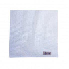 guardanapo de tecido individual azul com detalhes brancos 22088 amora casa casa cafe mel