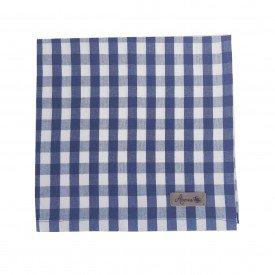 guardanapo de tecido individual xadrez azul 22092 amora casa casa cafe mel