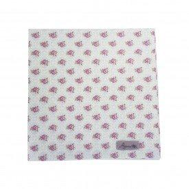 guardanapo de tecido individual cinza floral 22093 amora casa casa cafe mel