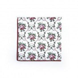 guardanapo de papel estampa flores vermelhas 20 pecas gp01 vm casa cafe mel