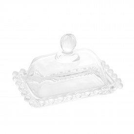 manteigueira cristal pearl transparente 11cm 27898 wolff casa cafe mel 1