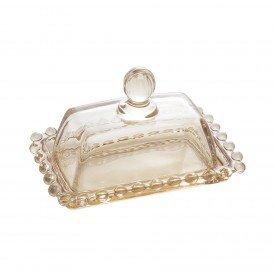 manteigueira cristal pearl ambar 14cm 28221 wolff casa cafe mel 1