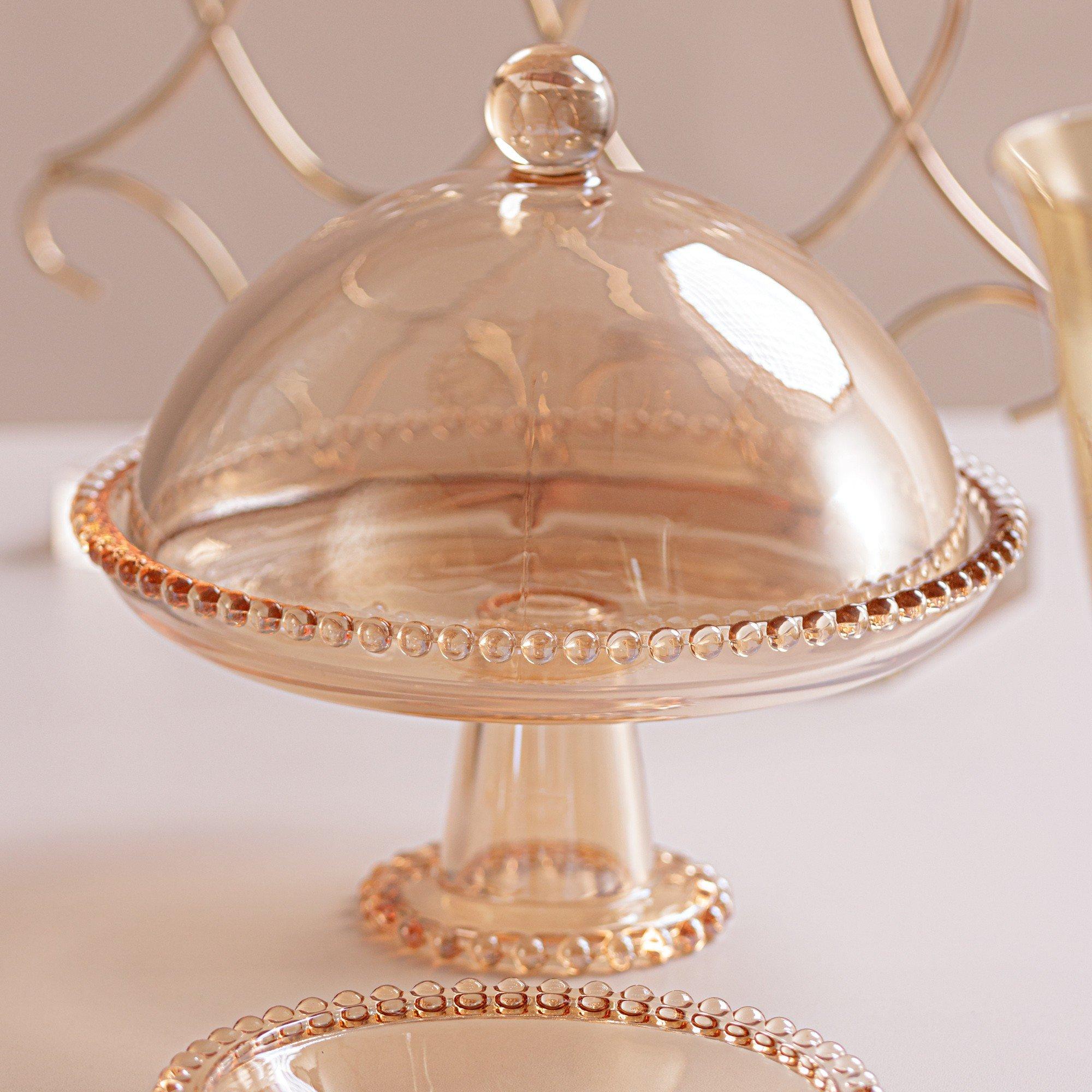 prato cristal com pe e tampa pearl ambar 28273 wolff casa cafe mel 7
