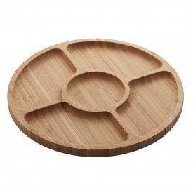 petisqueira redonda de bambu round 30cm 1349 lyor casa cafe mel 1
