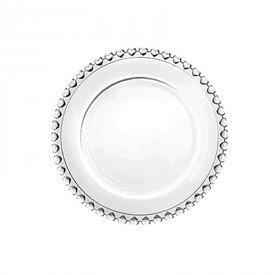 prato sobremesa cristal de chumbo coracao transparente 1504 ly lyor casa cafe mel 1