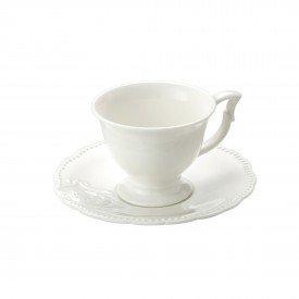 xicara de cafe pires porcelana super white queen individual 8559 lyor casa cafe mel 2