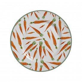 prato sobremesa pascoa de ceramica bunny cenourinha 8051103b alleanza casa cafe mel 2