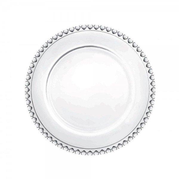 sousplat cristal de chumbo coracao transparente 1506 ly lyor casa cafe mel 1