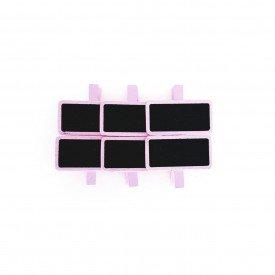 grampo decorativo marcador de lugar 6 pecas rosa hd70324 r casa cafe mel 4