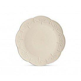 prato de bolo ceramica charmonix o33cm creme 2445338 scalla casa cafe mel