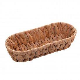 cesta de fibra natural palha 28cm 1338 ly lyor casa cafe mel 1