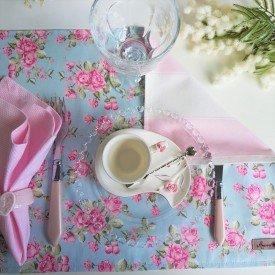 americano duplo de algodao amora casa 7534 floral azul casa cafe e mel 4
