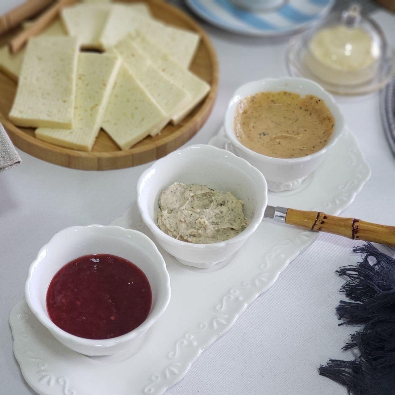 bandeja redonda de bambu round lyor casa cafe e mel