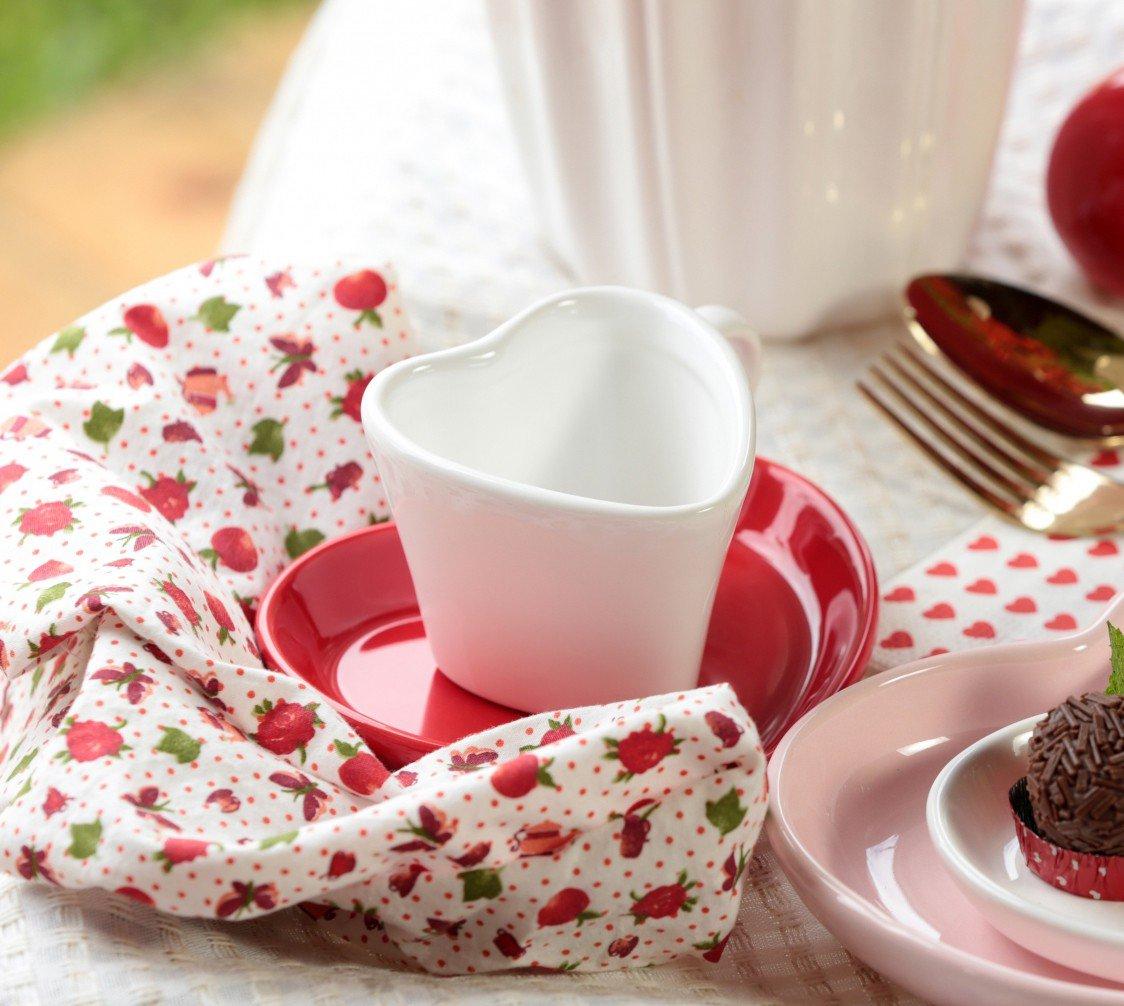 xicara para cha ceramica forma de coracao 150ml branco 01 443 silveira casa cafe mel 3