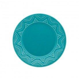 prato de sobremesa porcelana serena turquesa 076517 oxford casa cafe mel 1