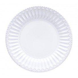 prato raso de ceramica sollievo sphie individual branco 202504 copa cia casa cafe mel 1