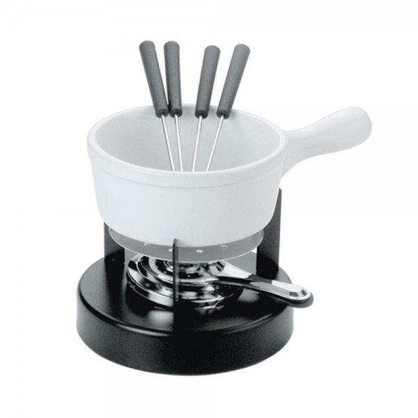 conjunto para fondue de ceramicas 8 pecas branco 16070 dynasty casa cafe mel 1