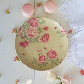 prato para sobremesa ceramica rose garden 14970001 porto brasil casa cafe mel 2
