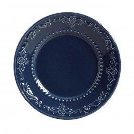 prato para sobremesa acathus deep blue 14483201 porto brasil casa cafe mel