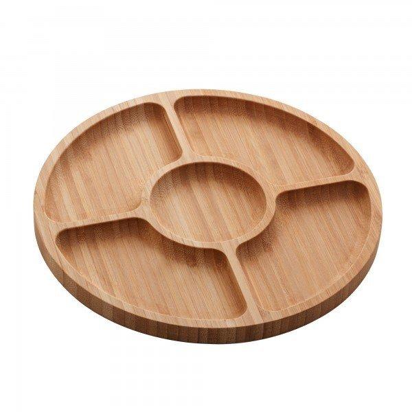 petisqueira redonda de bambu round 25cm 1348 lyor casa cafe mel 1