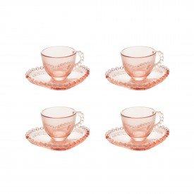 xicara cafe cristal pearl pires de coracao 85ml 4 pecas 28463 wolff casa cafe mel 6