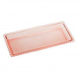 travessa de cristal retangular 30cm pearl rosa 28438 wolff casa cafe mel 1