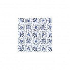 guardanapo de papel 20 pecas branco com detalhes azuis gp 042ba casa cafe mel 2
