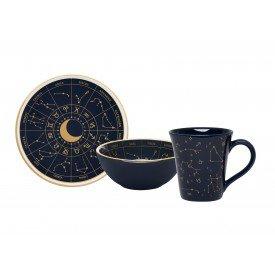 conjunto de lanche signos zodiaco azul marinho 103891 oxford casa cafe mel 1