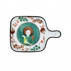 travessa retangular ceramica com alca esta menina 062148 pra caza casa cafe mel 1