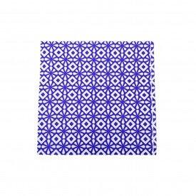 guardanapo de papel 20 pecas geometria azul gp 042az casa cafe mel 1
