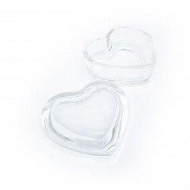 mini potiche de vidro em forma de coracao transparente 032037 pra caza casa cafe mel 1