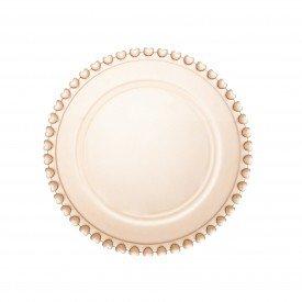 prato de sobremesa cristal coracao ambar 1536 lyor casa cafe mel 2