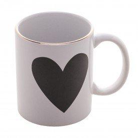 caneca de porcelana big heart 350ml 8634 lyor casa cafe mel 1