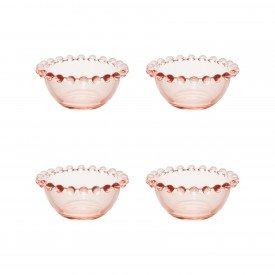 mini bowls cristal pearl 4 pecas rosa 28443 wolff casa cafe mel