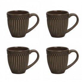 caneca roma cacau 1231367101kit4 porto brasil casa cafe e mel