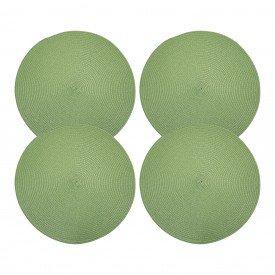 americano redondo trama individual verde o38cm amer45k vdkit4 casa cafe mel 3