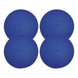 americano redondo trama individual azul o38cm cs0103 akit4 gzt casa cafe mel