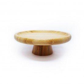 prato com pe de bambu o20cm 1559ly lyor casa cafe mel 5