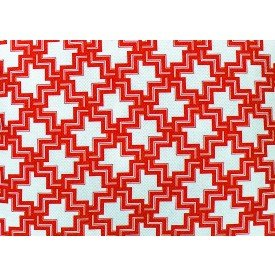 jogo americano capitolio geometrico vermelho 2002 2002 vb cortbras casa cafe mel
