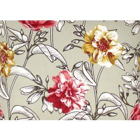 jogo americano agata bege floral 7512 ag cortbras casa cafe mel