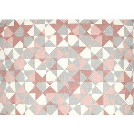 jogo americano agata geometria rose com cinza 7508 ag cortbras casa cafe mel