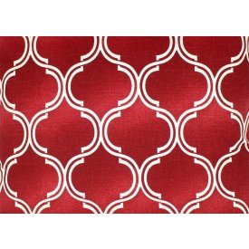 jogo americano agata vermelho com detalhe branco 7515 ag cortbras casa cafe mel