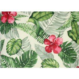 jogo americano aquamarine folhas de verao verde 509 cortbras casa cafe mel