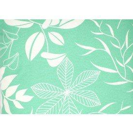 jogo americano aquamarine verde estampado 501 cortbras casa cafe mel