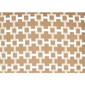 jogo americano de tecido agata 4 cortbras geometria bege 7504 casa cafe e mel 1