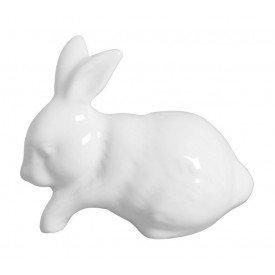 coelho decorativo de ceramica branco 01 442 silveira casa cafe mel