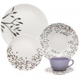 aparelho de jantar ceramica unni lilac 30 pecas 102966 oxford casa cafe mel 1